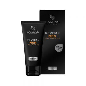 Pánsky krém na tvár LARENS Revital Men Face Cream Gel 50 ml