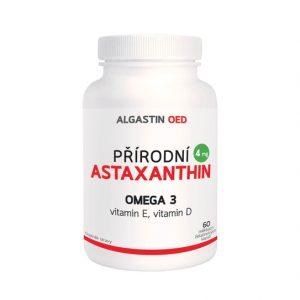 Algamo Astaxantín + Vitamín D a E (4 mg/60 kaps.)