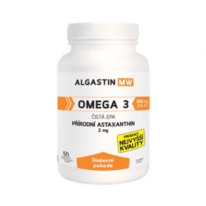 Algamo Astaxantín MW - Duševná pohoda (2 mg/60 kaps.)