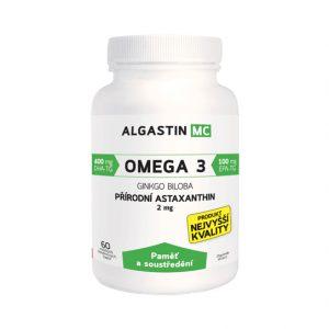 Algamo Astaxantín MC - Pameť a sústredenie (2 mg/60 kaps.)