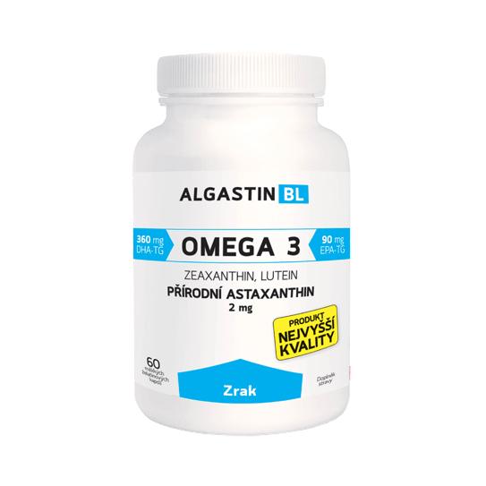 Algamo Astaxantín BL - na podporu zraku (2 mg/60 kaps.)