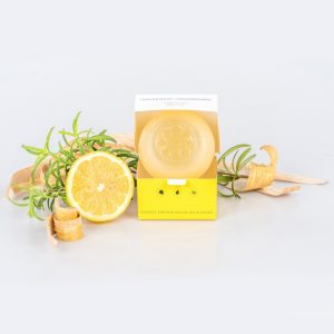 Tuhé prírodné mydlo citrón-rozmarín