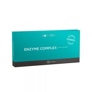 Kompozícia bromelaínu a papaínu Enzyme Complex 60