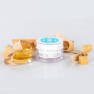 Krém so striebrom, brezovou kôrou a arganovým olejom