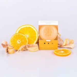 Tuhé prírodné mydlo pomaranč-mandarínka