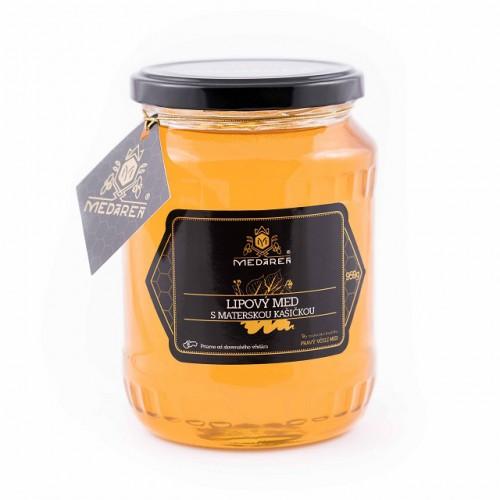 Lipový med s materskou kašičkou