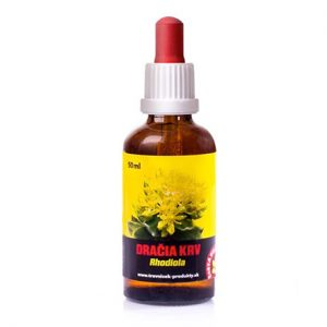Rastlinná tinktúra Rhodiola