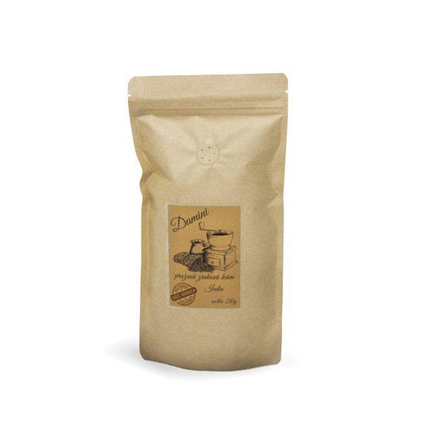 Pražená zrnková káva India Monsooned Malabar