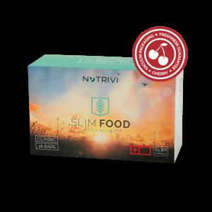 Čerešňové tyčinky na redukciu hmotnosti Nutrivi Slim Food Classic Cherry