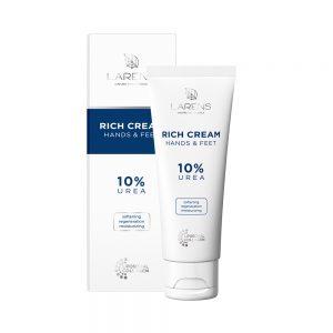 Hydratačný a regeneračný krém na ruky a nohy Larens Rich Cream Hands & Feet