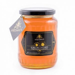 Slovenský slnečnicový med s materskou kašičkou